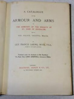 catalogue of the armoury