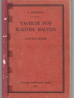 taghlim fuq il-kitba Maltija