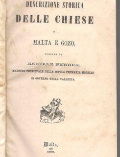 descrizione storica delle chiese di Malta e Gozo