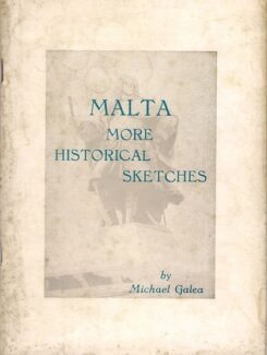 Malta More Historical Sketches