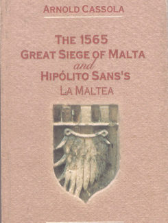 the 1565 great siege of Malta and hipolito sans's