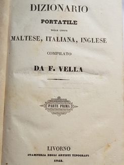 dizionario portatile