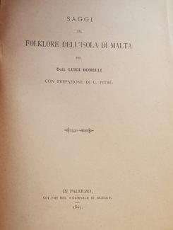 folklore dell isola di Malta