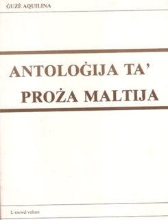 antologija ta' proza Maltija
