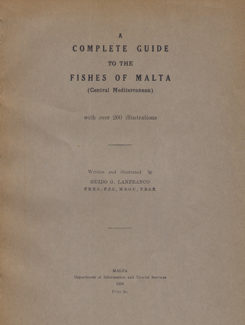 a complete guide to the fishes of Malta