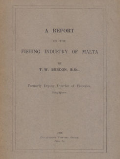 report on the fishing industry of Malta