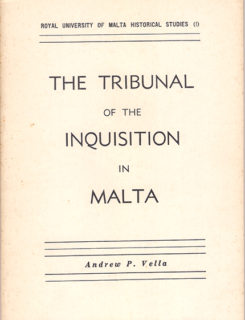 tribunal of the inquisition in Malta
