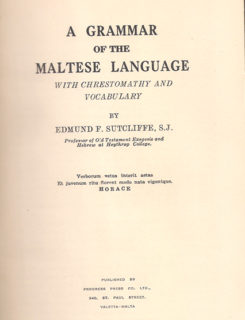 A grammar of the Maltese language with chrestomathy and vocabulary