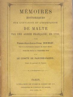 memoires historiques sul invasion de malte