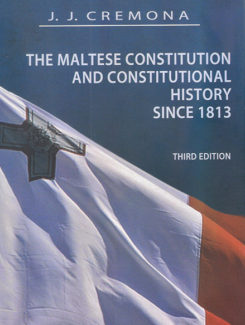 maltese cnstitution and constitutional history