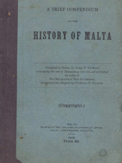brief compedium of the history of Malta