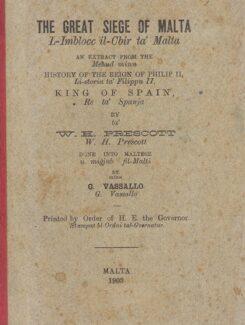 the great siege of malta, l-omblocc il cbir ta malta