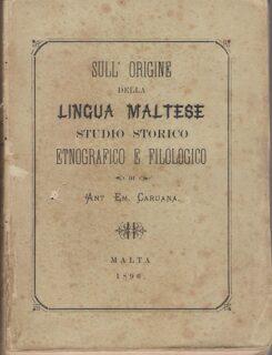 sull origine della lingua maltese