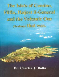 islets of comino, filfla, hagret il general and the volcanic one graham that was