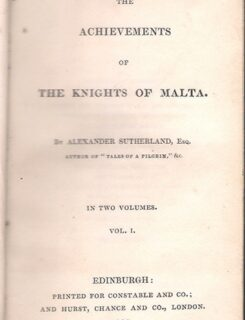 achievements of the Knights of Malta.
